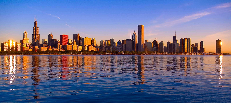 Chicago Sunrise at Gear World