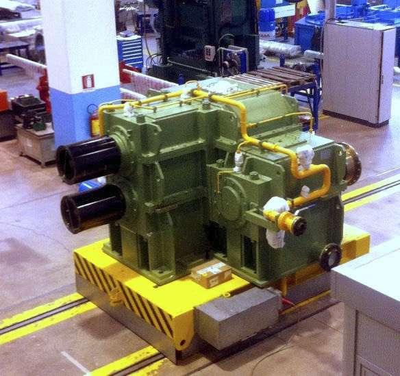 Green Hamilton Gearbox