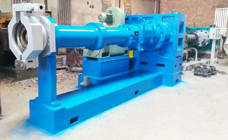 Pin-Barrel-Cold-Feed-Rubber-Extruder-Machine